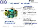 telis terahertz limb sounder