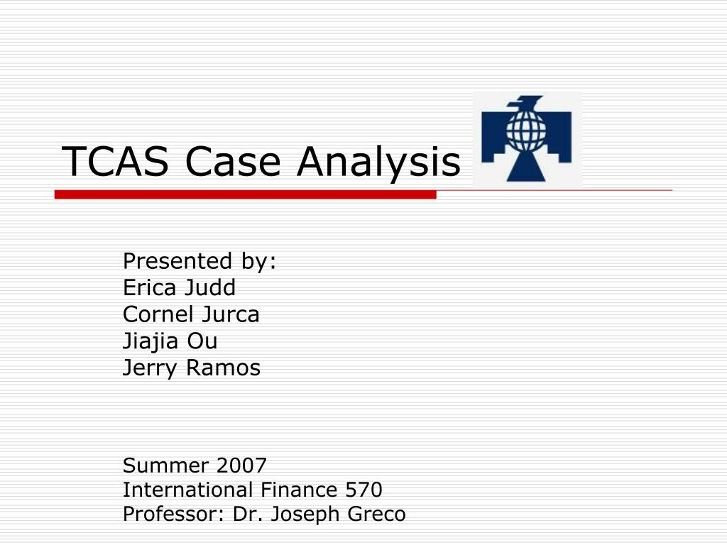 tcas case analysis l.