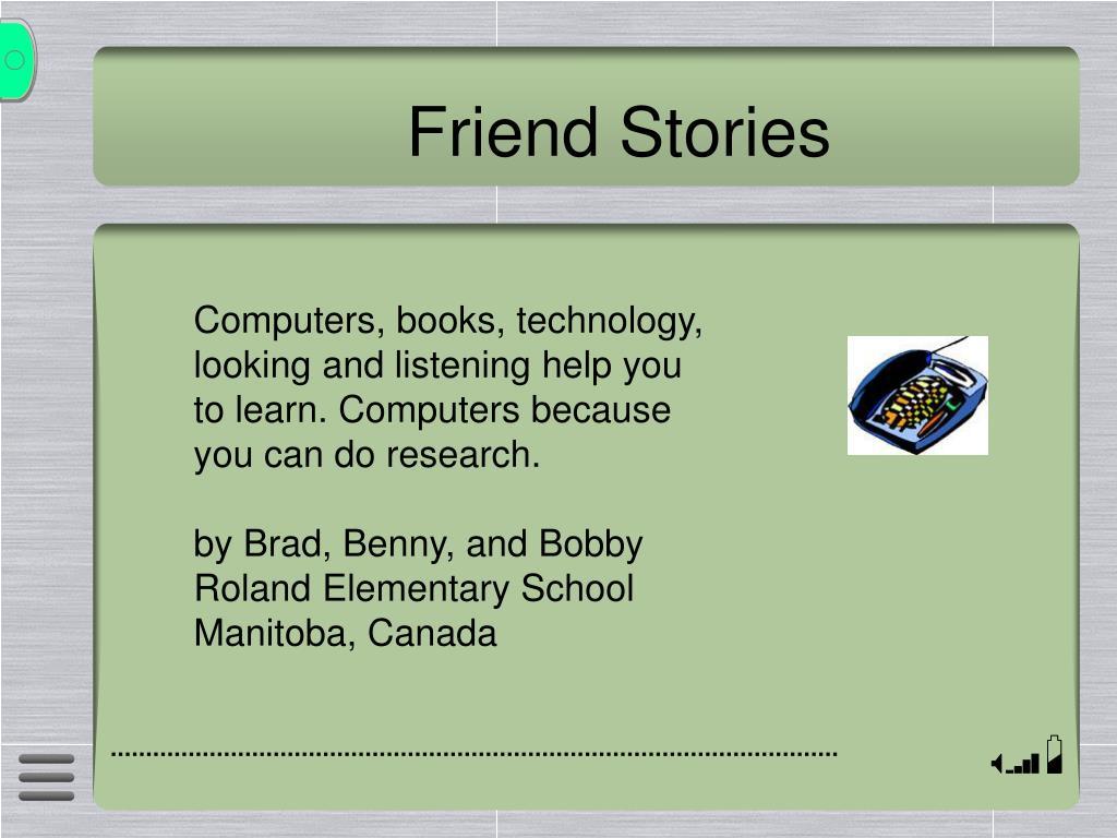 Friend Stories