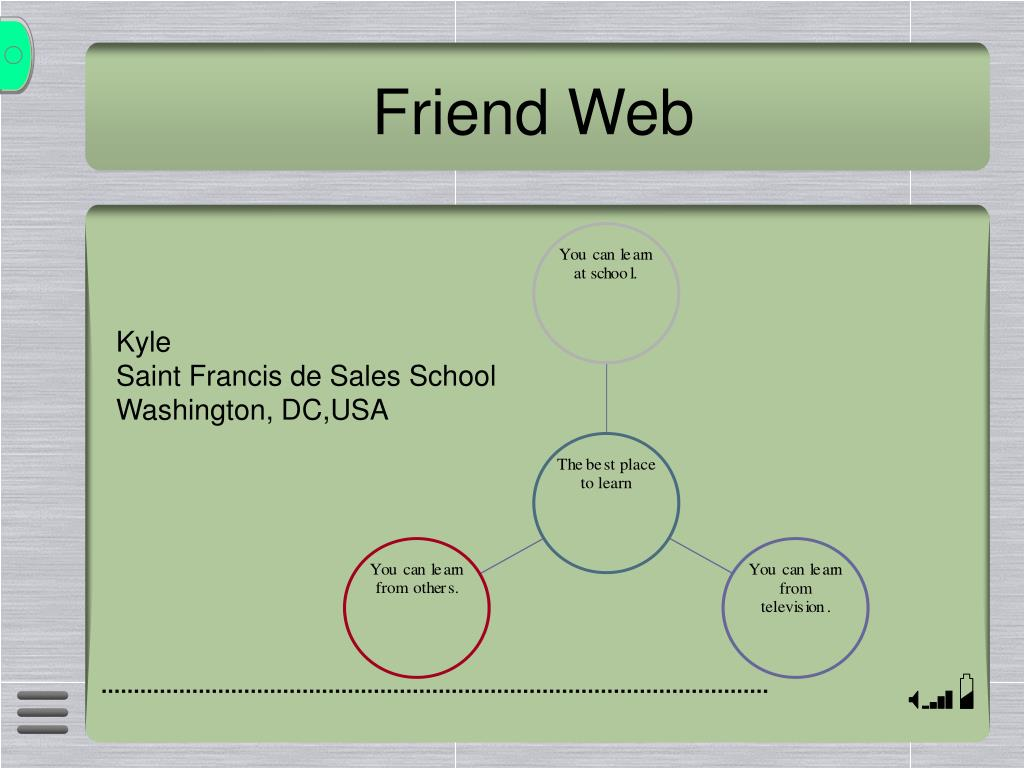 Friend Web