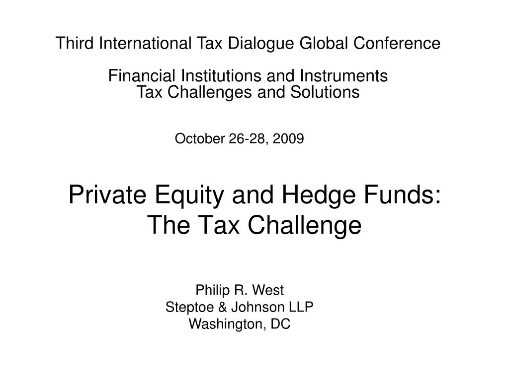 Third International Tax Dialogue Global Conference