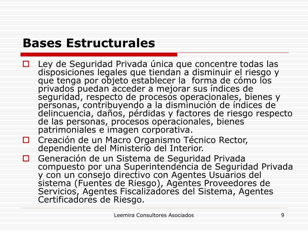 Bases Estructurales
