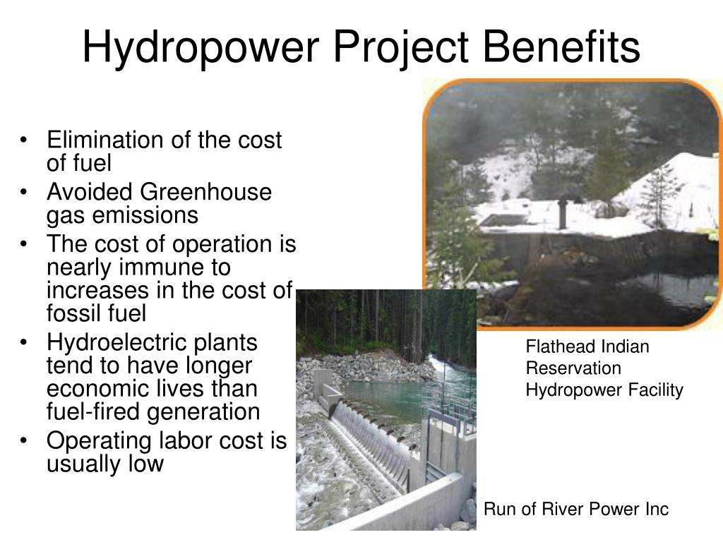 Hydropower Project Benefits