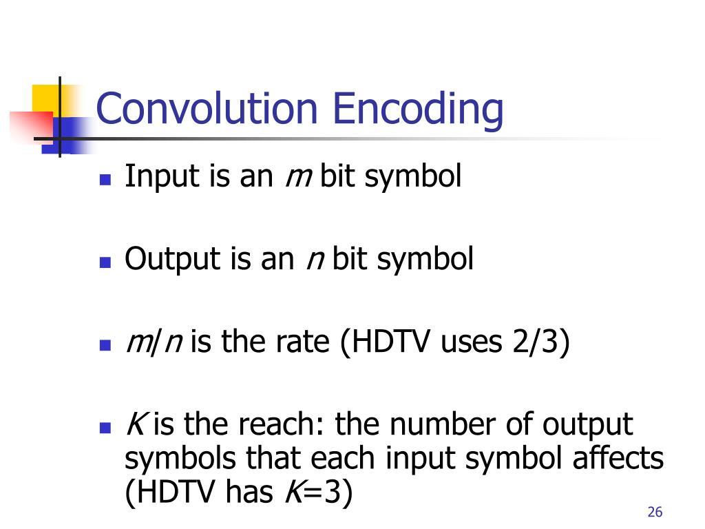 Convolution Encoding