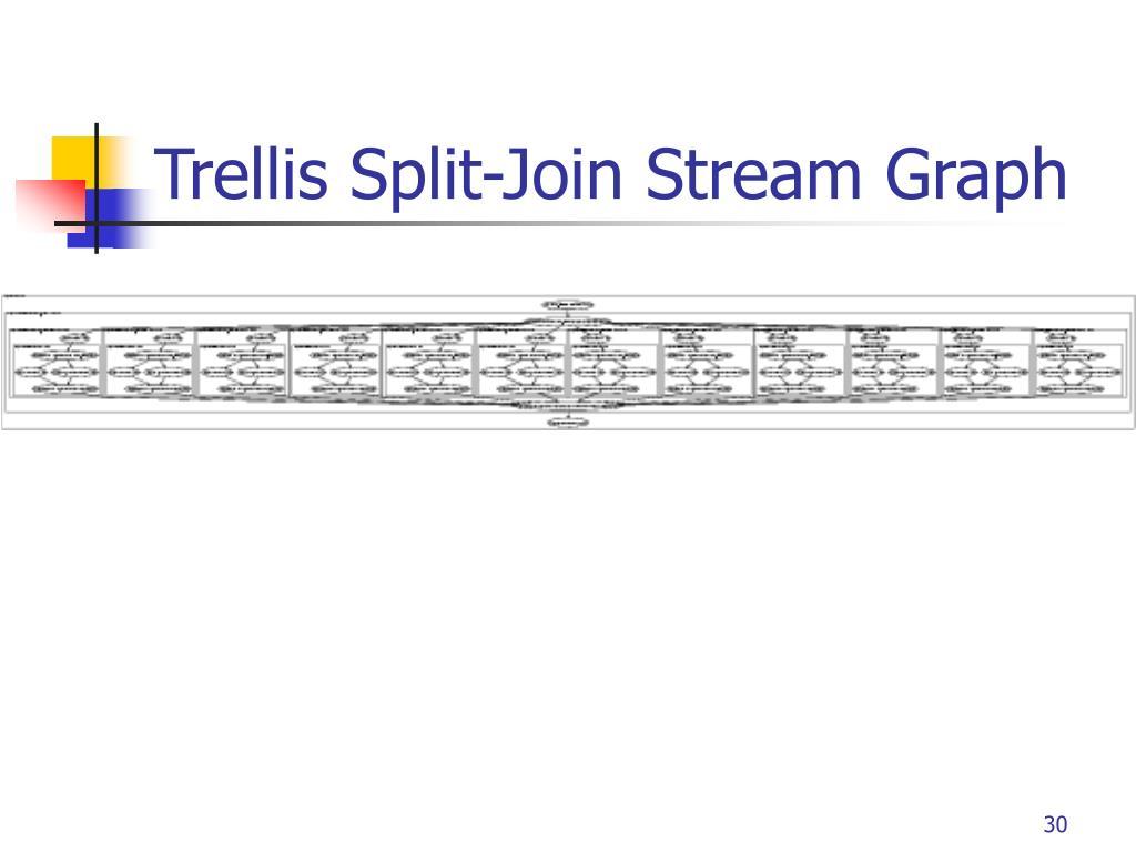 Trellis Split-Join Stream Graph