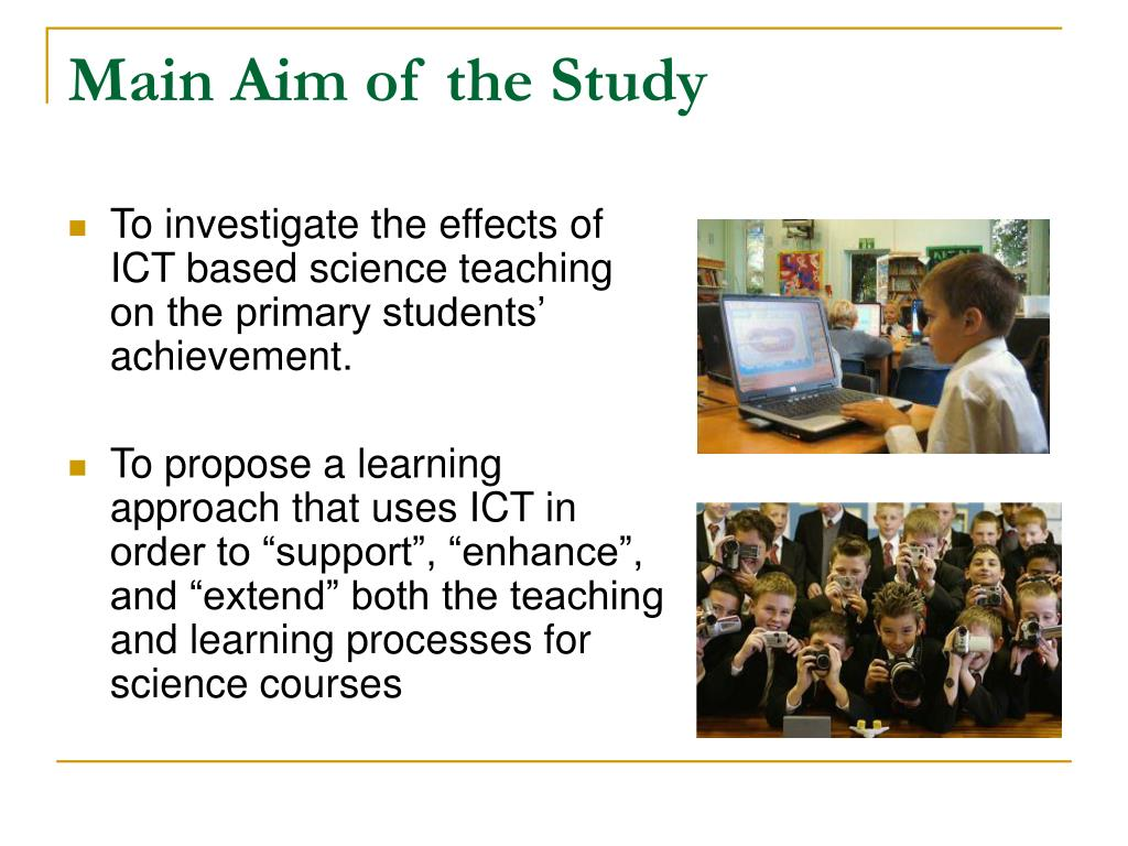 Main Aim of the Study