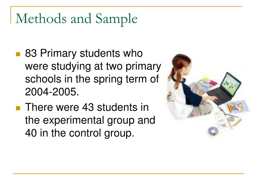 Methods and Sample
