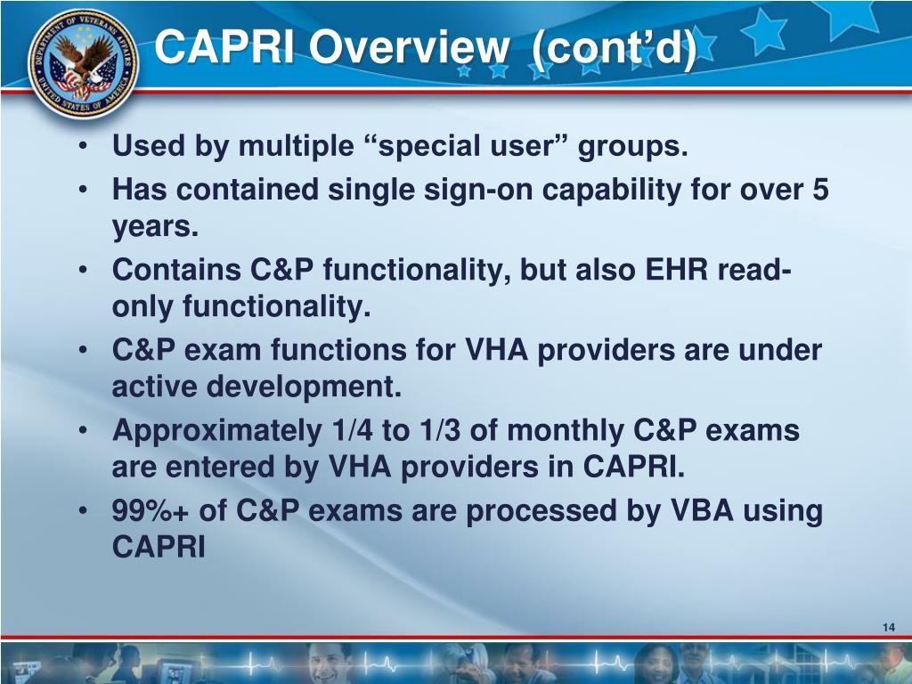 CAPRI Overview (cont'd)