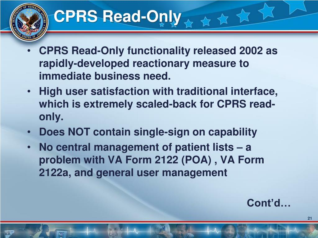 CPRS Read-Only