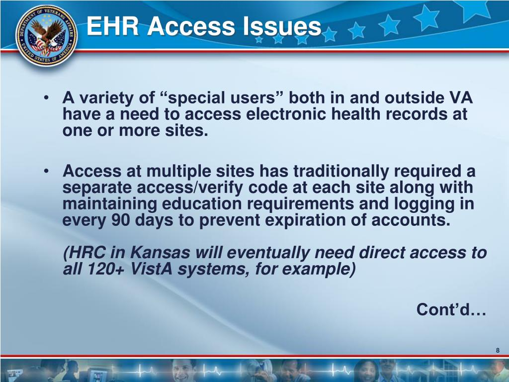 EHR Access Issues