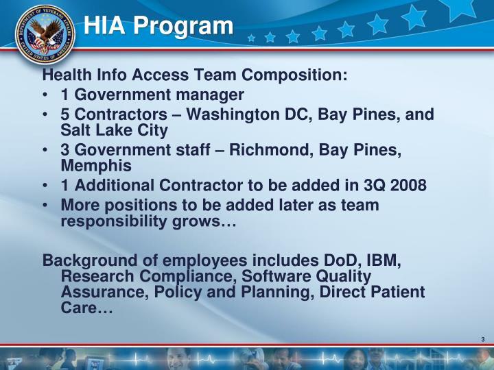 Hia program3