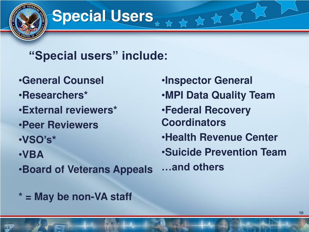 Special Users