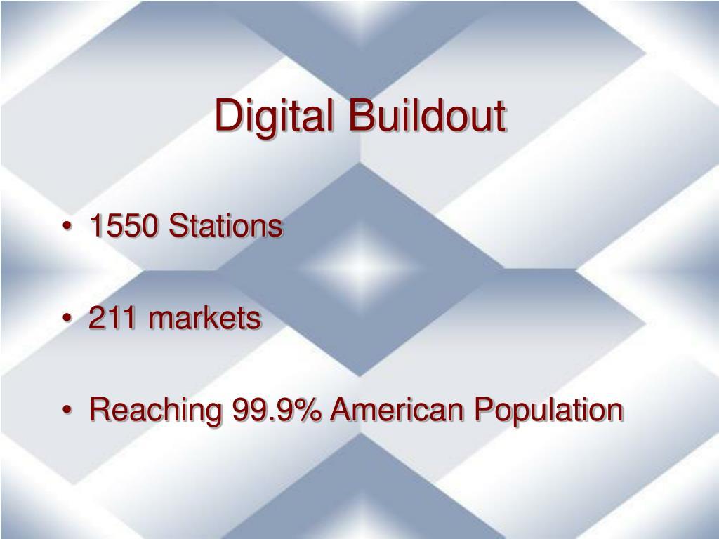 Digital Buildout