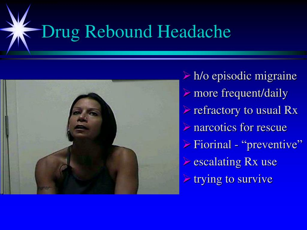 Drug Rebound Headache