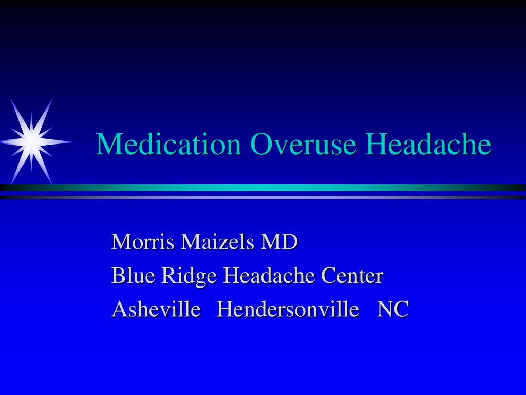 Medication Overuse Headache