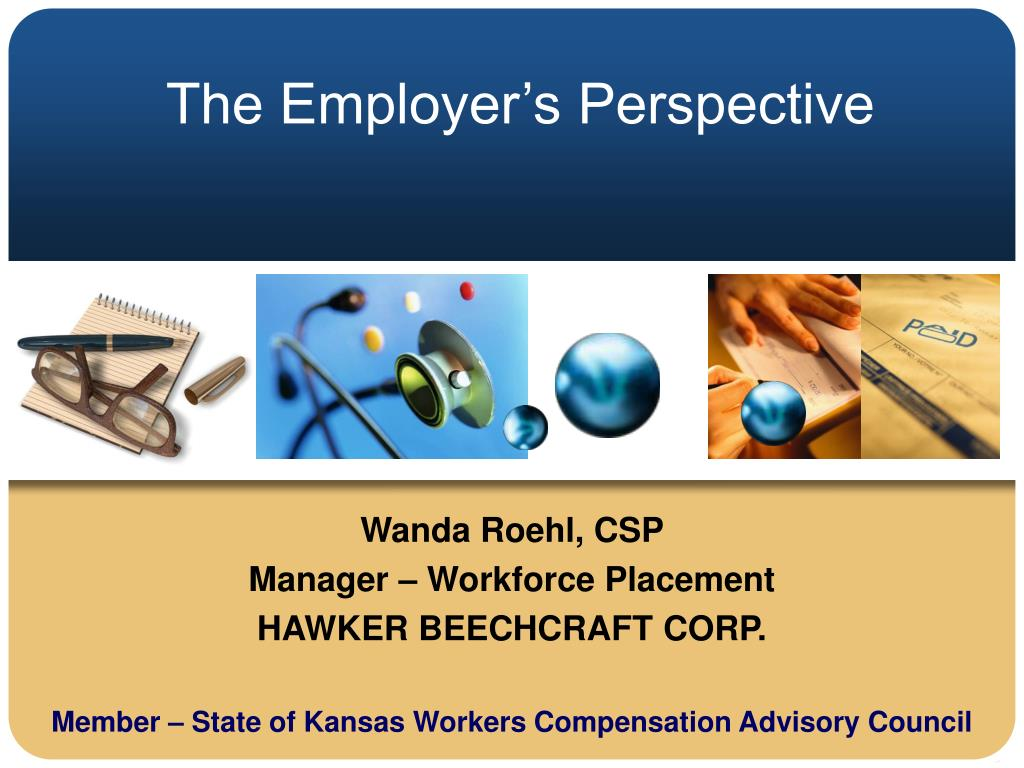 the employer s perspective l.