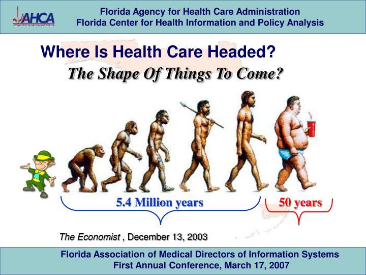 Where Is Health Care Headed?