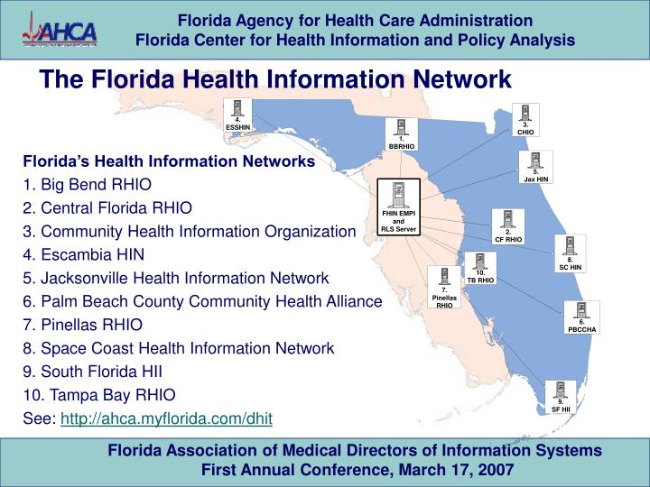 The Florida Health Information Network