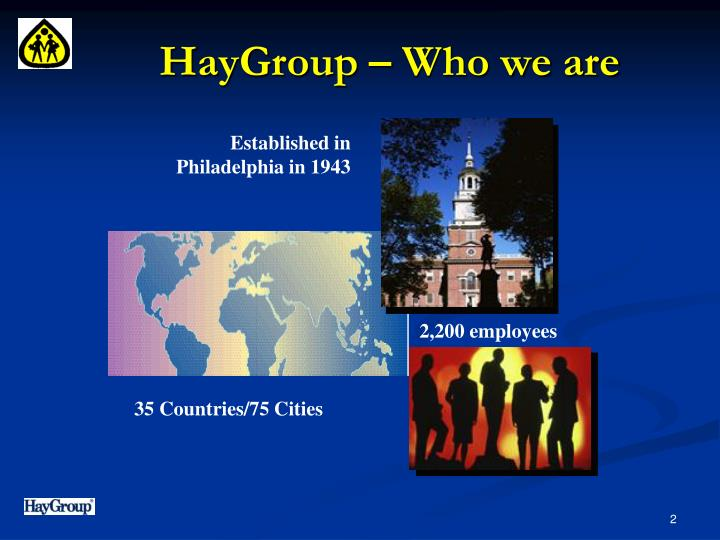 Haygroup who we are