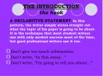 the introduction the hook14