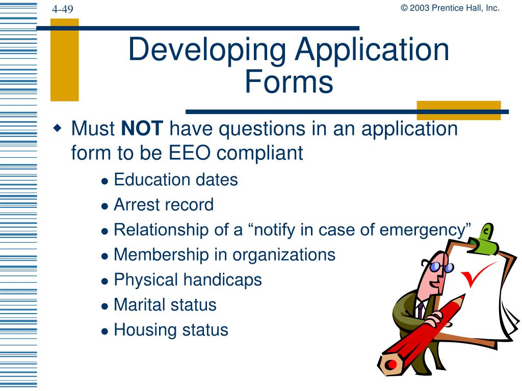 Developing Application Forms