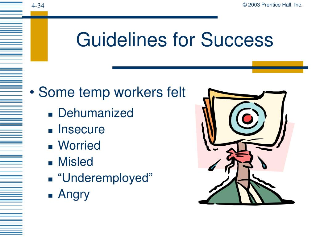 Guidelines for Success