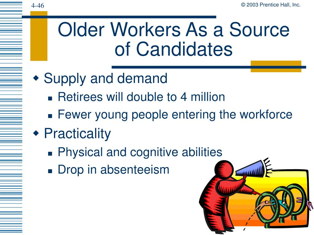 Older Workers As a Source of Candidates