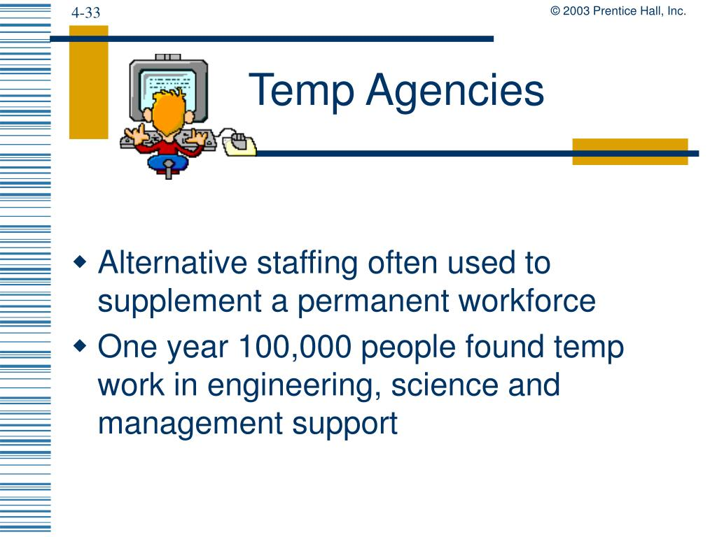 Temp Agencies