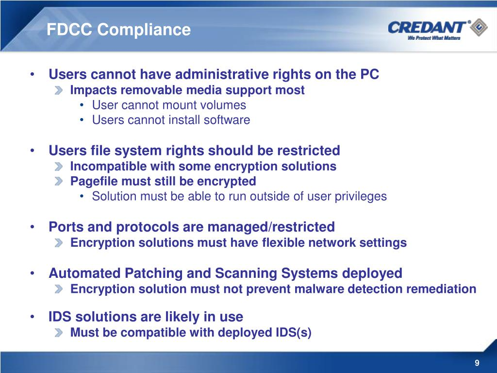 FDCC Compliance