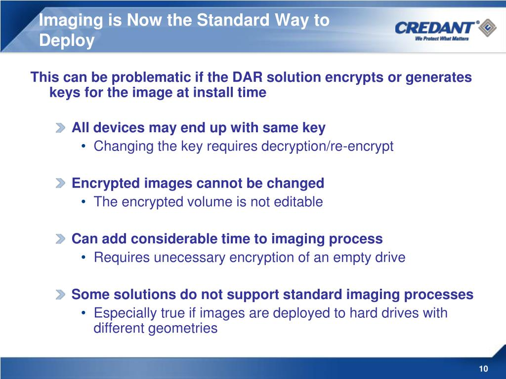 Imaging is Now the Standard Way to Deploy