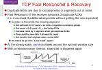 tcp fast retransmit recovery