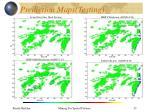 prediction maps testing