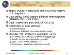 spatial outliers