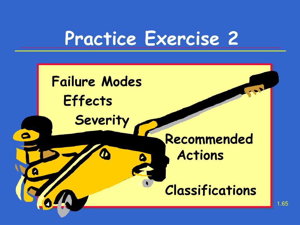 Practice Exercise 2