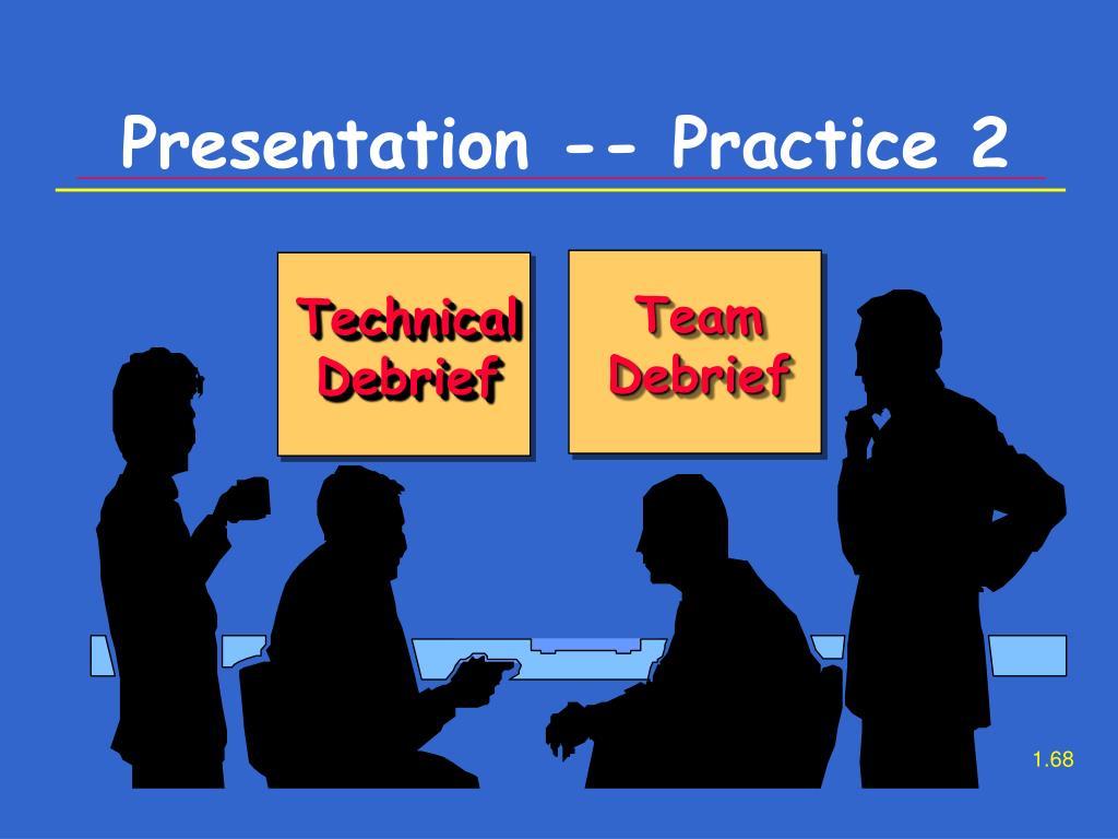Presentation -- Practice 2