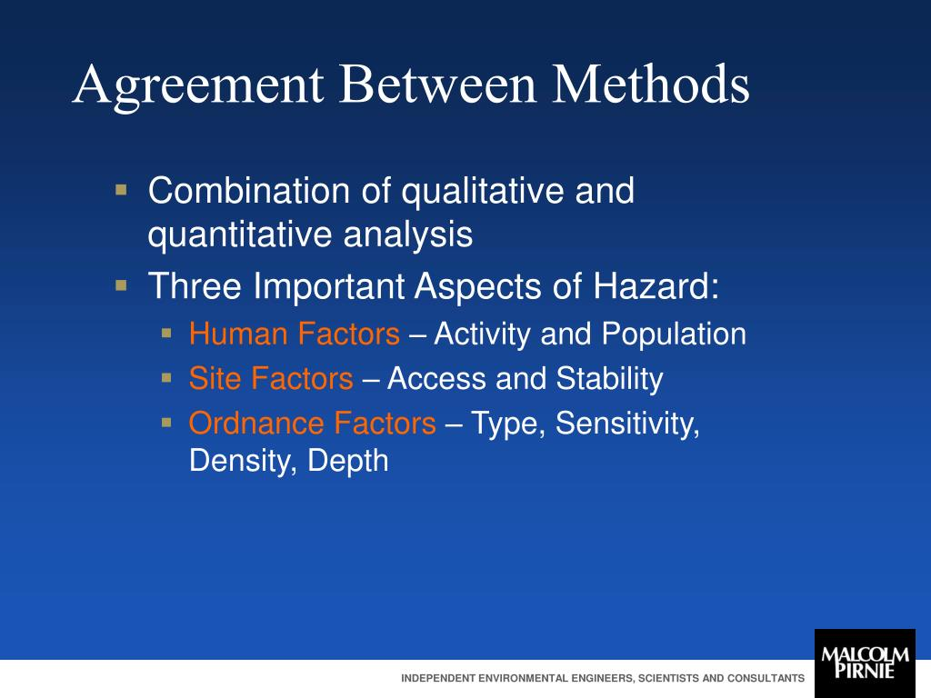 Agreement Between Methods