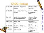 cmoc meetings