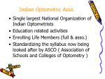 indian optometric asso