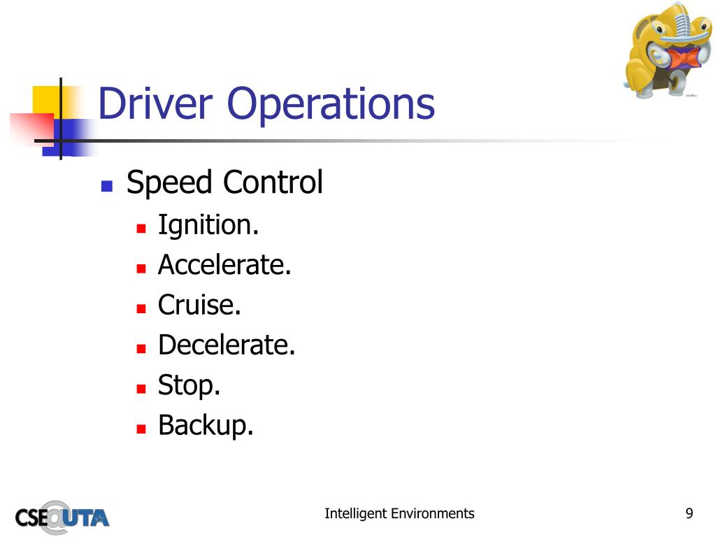 Driver Operations