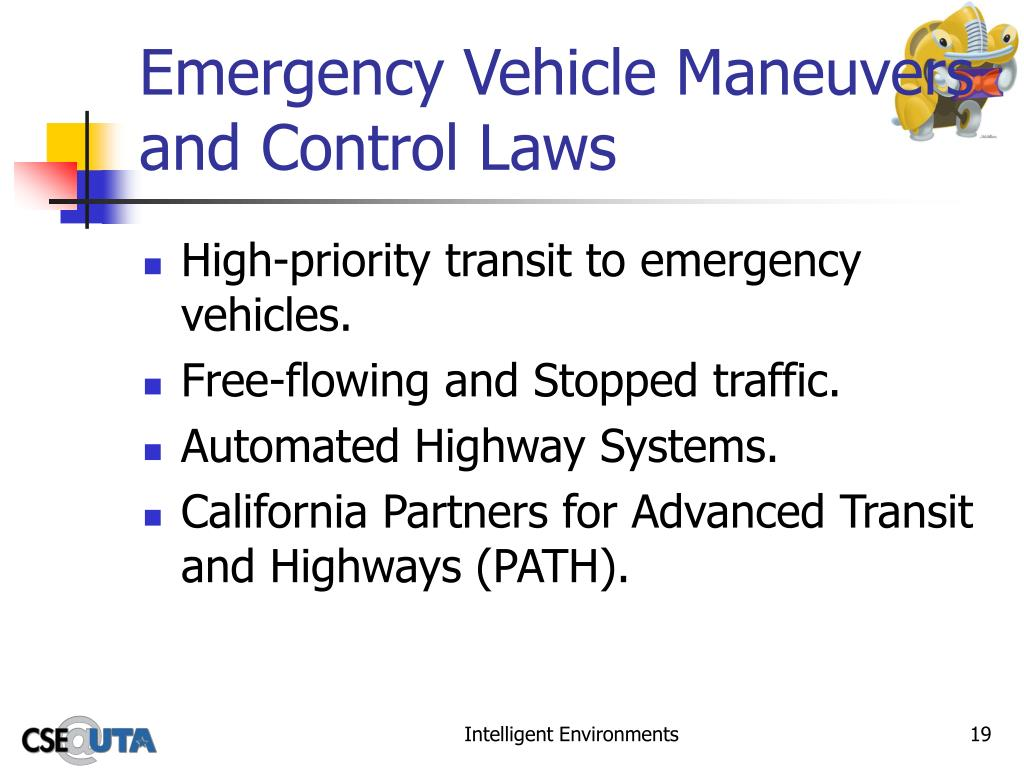 Emergency Vehicle Maneuvers and Control Laws