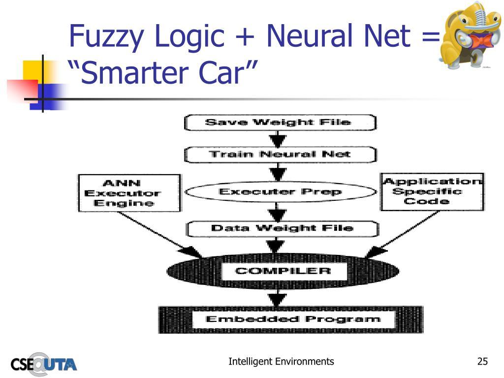 """Fuzzy Logic + Neural Net = """"Smarter Car"""""""