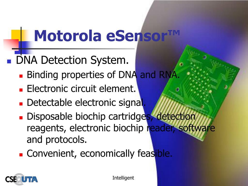 Motorola eSensor™