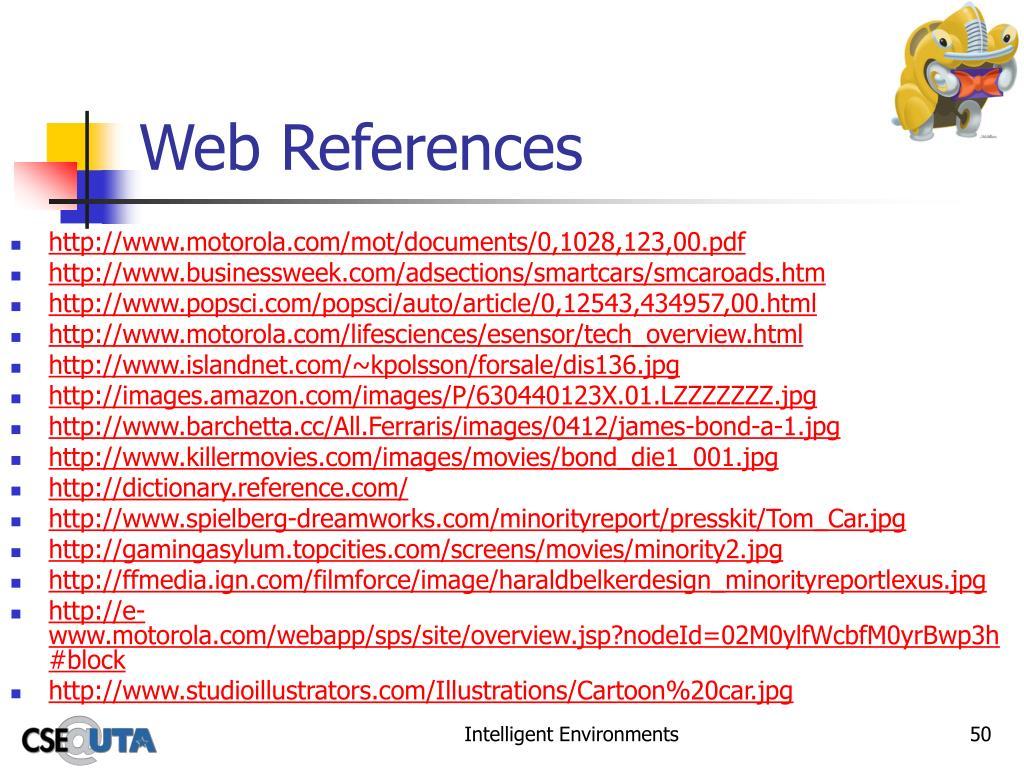 Web References