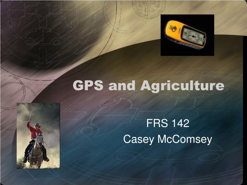 GPS and Agriculture