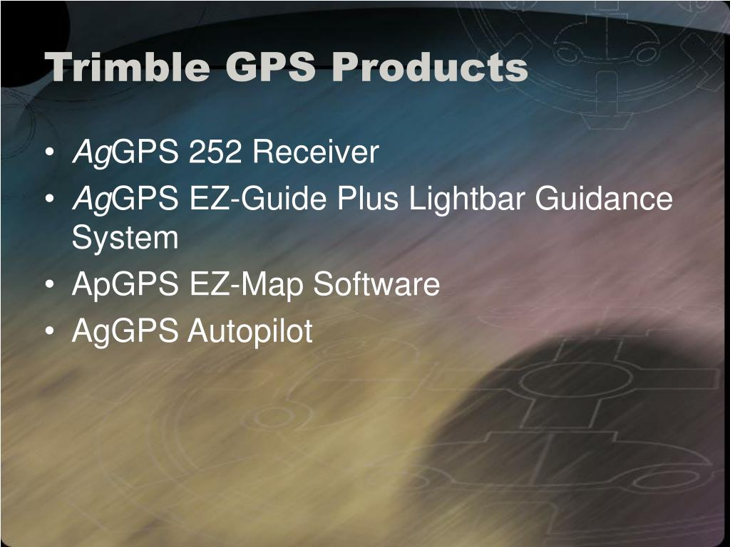 Trimble GPS Products
