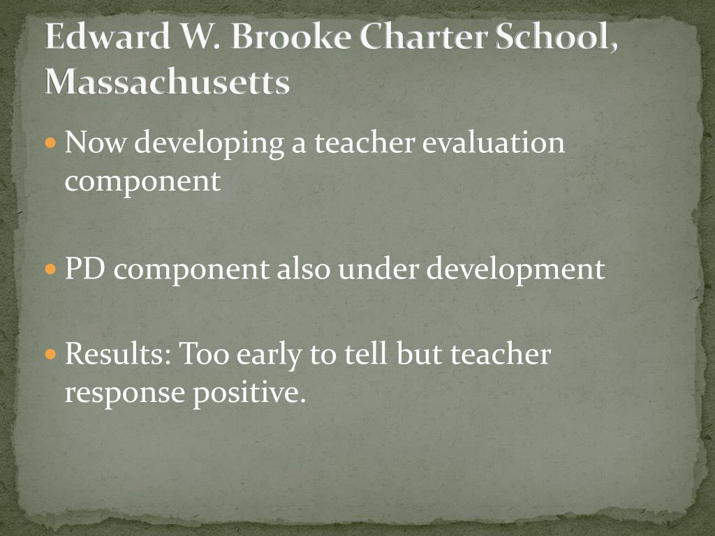 Edward W. Brooke Charter School, Massachusetts