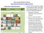 discussing children s books international children s digital library