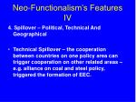 neo functionalism s features iv13