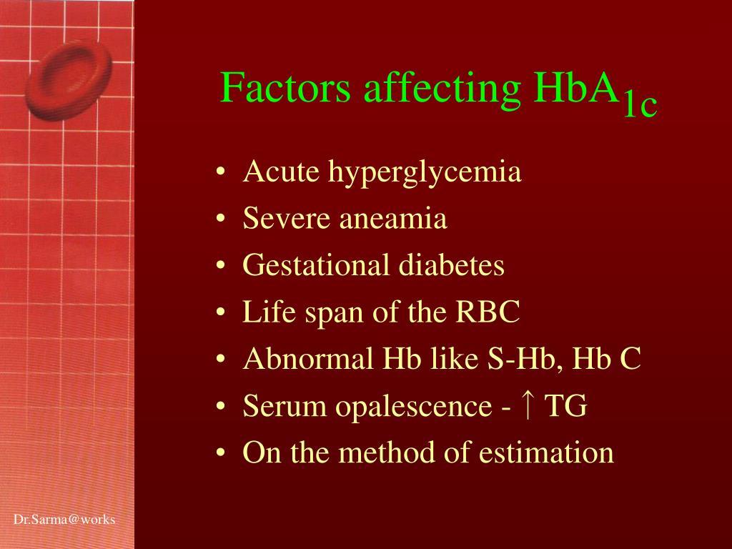 Acute hyperglycemia