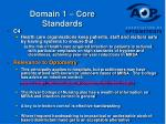 domain 1 core standards18